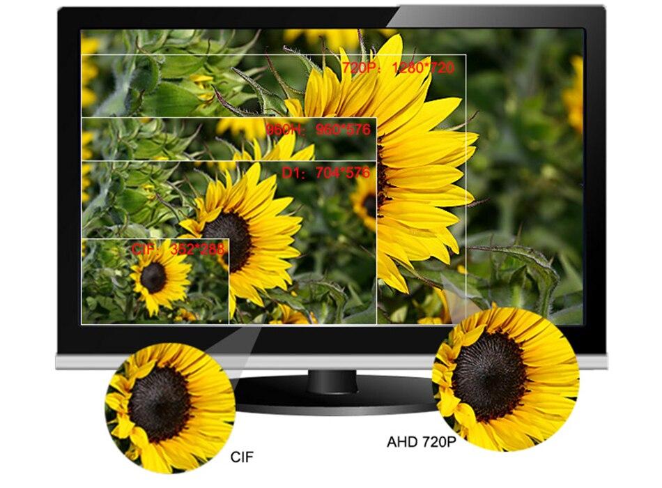 Smar Super CCTV HD 25601440 4MP AHD Camera Outdoor Waterproof Security Video Surveillance Camera 4 IR Array Infrared Metal Case (10)