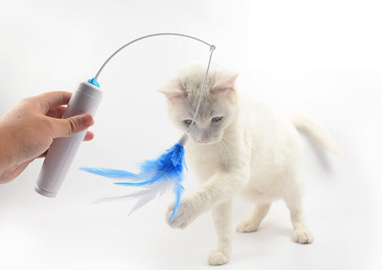 Flying Feather Interactive Cat Toy