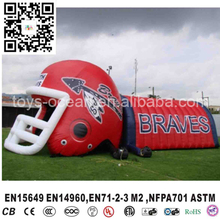 USA hot sale helmet inflatable tunnel,inflatable football tunnel,advertising inflatables for sale(China)