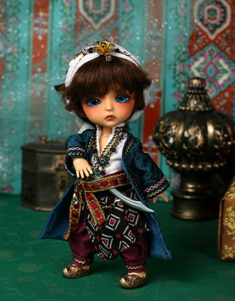 flash sale!free shipping!free makeup&amp;eyes!top quality bjd 1/8 baby doll lati Aladdin the Enchanted Lamp ver Lea tan yosd hot toy<br><br>Aliexpress