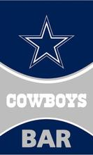 New Design 90x150 cm Dallas Cowboys Flag Bar Support Banners Soccer Team Flag Polyester(China)