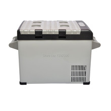 Car freezer portable mini fridge icebox for insulin dc 12v compressor  refrigerator mini geladeira 32L