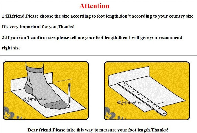 how to measure your foot length 002