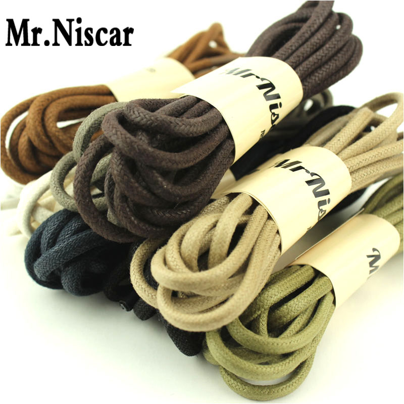 10 Pair Waxed Round Shoelaces Athletic Sport Climbing Shoe Laces Basketball Bootlaces Shoestring String Length 60 cm-180cm<br><br>Aliexpress