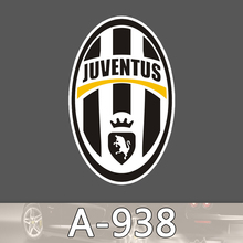 Bevle A-938 Juventus Italy Football Club S.P.A Logo Waterproof Cool DIY Sticker Laptop Luggage Car Graffiti Cartoon Stickers