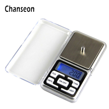 Chanseon 100g x 0.01g Mini Precision LCD Digital Diamond Pocket Jewelry Scale Display Units Pocket Electronic Scales(China)