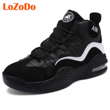 2017 New Arrival Air Cushion Damping Basketball Shoes Men Sneaker Strong Grip Basketball High Top Brand Sport Shoe Men