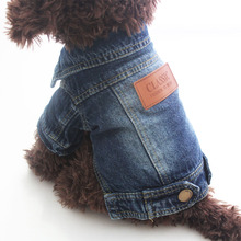 Buy 1Pc 5 sizes Clothes Dogs Denim Dog Vest Jacket Clothing Pet Cat Jeans Coat Dog Clothes Teddy Chihuahua Puppy Supplies for $9.34 in AliExpress store