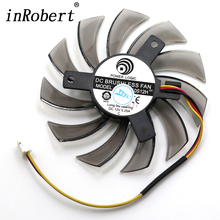 75MM Power Logic PLD08010S12H DC 12V 0.25A 3Pin Computer Cooling Fan Gigabyte Geforce GTX 570 630 750TI Graphics Video Card(China)