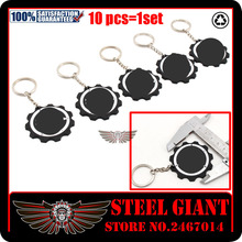 Hot Sale Motorcycle accessories Rubber Keychain KeyRing Key Ring/Chain logo For YAMAHA