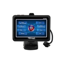 Top Quality OBDii OBD2 Scanner ATC430 Car Smart Trip Computer + GPS Navigator + Oil statistics 4.3'' LCD Touch Screen