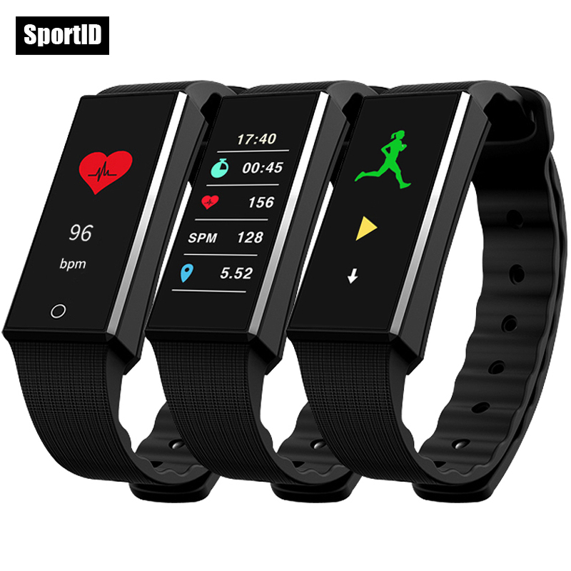 Smart Bracelet Fitness Tracker Z4 Wristband Heart Rate Monitor Sport Watch Men Women Colorful OLED Screen Pedometer Android Band<br>