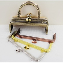 20cm five colors metal purse clasps frame ,purse frame for DIY coin purse,Bag Accessories Wholesale Metal Purse Frame