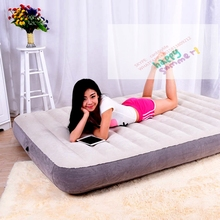 Newest Intex 64702 Deluxe Full Size Inflatable Camping Airbed ,High Quality Double Inflatable Flocked Air Bed Mattress