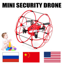 mini drone remote control toys rc helicopter micro dron quadcopter aircraft quad copter flying ball droni quadrocopter for kids(China)