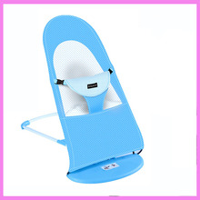 Baby Rocker Vibrating Rocking Chair Baby Bouncer Toddler Adjustable Bouncer Seat Baby Swing Rocking Crib Chaise(China)