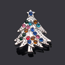 5pcs/lot Christmas Crystal Snap Buttons Replaceable Jewelry fit 18mm/20mm Snap Bracelet Jewelry Making Christmas Gift NZ506