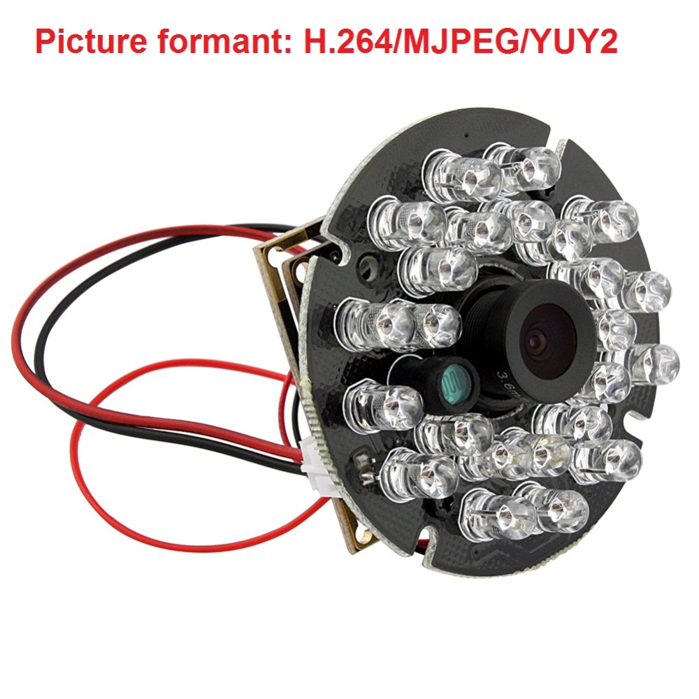 720P  HD OV9712 CMOS free driver  H.264  usb 2.0  ir infrared usb camera night vision with audio microphone<br>