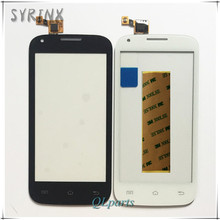Syrinx + Tape Sensor Touch Screen For Phone Fly IQ4406 ERA Nano 6 Touch Panel Front Glass Digitizer OEM For FLY 4406 Touchscreen