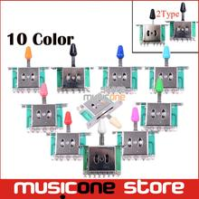Colorful 5 Way Selector Electric Guitar Pickup Switches Guitar Toggle Lever Switches Guitar Parts