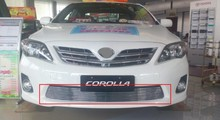 For Toyota Corolla 2011 2012 2013 Racing Grills front grille suitable aluminum material Accessories 1PC(China)
