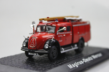 ATLAS 1: 72 Magirus-Deutz Mercur the old fire truck alloy car models ambulance