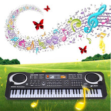 High Quality New 61 Keys Digital Music Electronic Keyboard Key Board Gift Electric Piano Gift For Kids Free Shipping