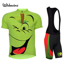 Children Cycling Jersey Bike Cycling Clothing Bicycle Short Sleeve Jersey For Kids Cute cartoon XXS-6XL(China)