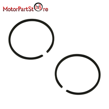 2Pcs Piston Rings for YAMAHA PW80 PY80 PEEWEE 80 Dirt Pit Bike ATV Quad Engine Motorcycle Part #