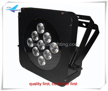 12pieces lot 9X15W RGBWA 5IN1 LED Flat Slim Par Light Par64 Digital Features With CE Rohs(China)