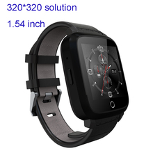 3G android WIFI Smartwatch Phone Android 5.1 SIM Card 1.54inch 320*320 1GB RAM+8GB ROM GPS 0.3MP Camera,Heart Rate, Google map