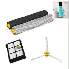 HEPA Filter + Debris Extractor + Gift Clean brush Kit For iRobot Roomba 800 860 870 880 900 980 vacuum Robots accessory parts