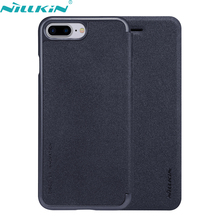Buy Apple iPhone 7 Plus Leather Case 7Plus 5.5'' Original NILLKIN Hard PC Back Cover Flip Phone Cases iPhone7 Plus for $7.91 in AliExpress store