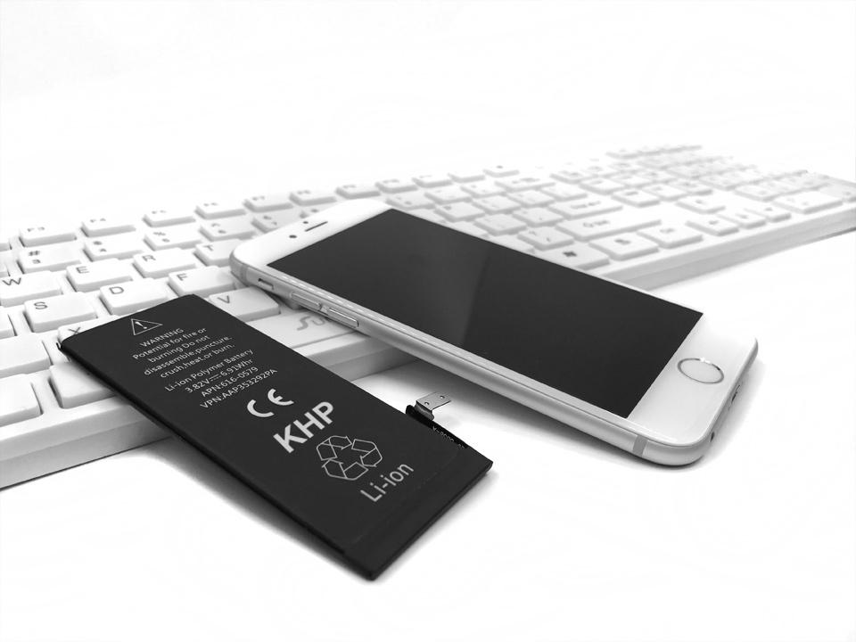 NEW 2017 100% Original KHP Phone Battery For iPhone 6 Capacity 1810mAh Repair Tools 0 Cycle Replacement Mobile Batteries Sticker (18)