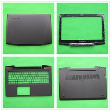New Laptop LCD Top Back/Front Bezel/Palmrest Upper/Bottom Case Base/Hinges Cover For Lenovo Y40 Y40-70 14 inch