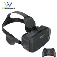 BOBOVR Z4 / Z4 mini Virtual Reality Goggles 3D Glasses VR Box with Headphone Polarized Glasses for Android iPhone 4.7-6.0''
