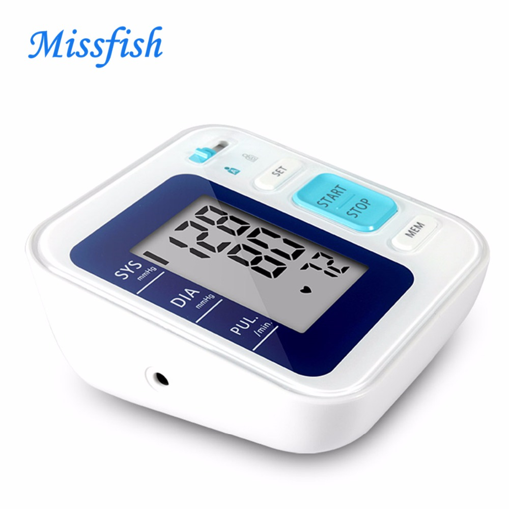 home professional medical Automatic cuff blood pressure tonometers monitor device<br>