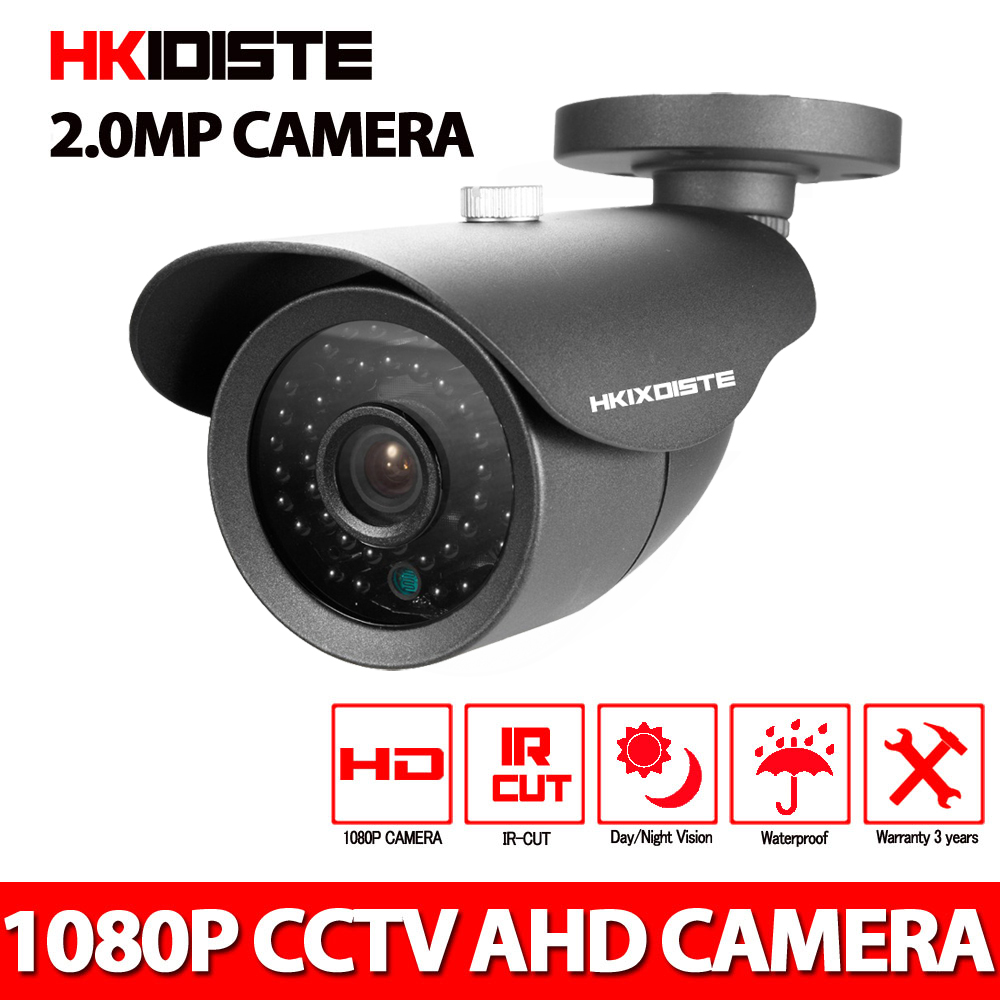 1080P 2.0MP Full HD AHD Outdoor Waterproof Metal Bullet Security Surveillance CCTV Video Camera With 36PCS IR LED<br>