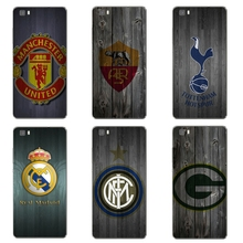 For Huawei Honor 5C 7 7I Phone Case P8 P9 Lite Plus G9 Cover Mate 7 8 Transparent Shell Soft Silicon Wood Football Pattern Skin