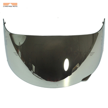 1 Pcs Chrome Motorcycle Full Face Helmet Visor Shield Case for AGV GP-Pro S4 Airtech Stealth Q3 Titec(China)