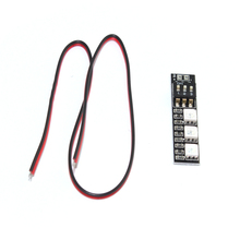 RGB 5050 LED Light Board 5V 12V 3S 4S 7 Colors Switch for RC 250 250 FPV Quadcopter Multicopter F16184/85