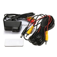 HD Waterproof Reversing Rear View License Plate Camera For Ford /Transit /Connect(China)