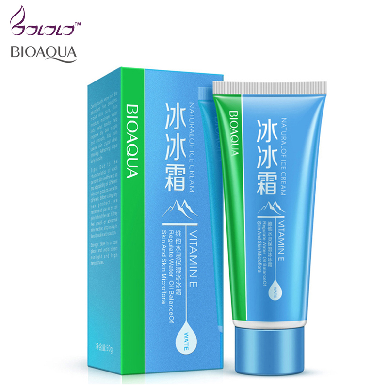 BIOAQUA natural vitamine E cream face cream anti wrinkles Face skin care whitening mointurizing skin Day Creams & Moisturizers(China (Mainland))