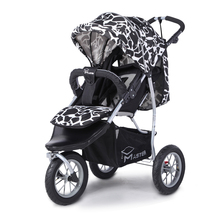 Three wheeled baby stroller baby carriage can be high lying baby stroller can be folded folding carriage