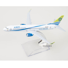 (5pcs/pack) Wholesale Brand New Aires Colombia Boeing 737 Airplane 16CM Length Diecast Metal Plane Model Toy(China)