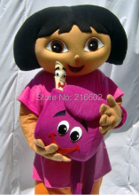Wholesale  Dora mascot Apparel Character Dora dress  EVA Material