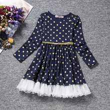 Winter Floral Cotton Girl Dress for Child belt Party Princess Dress for Girls Kids Clothes 3 4 5 6 years birthday dress Clothing