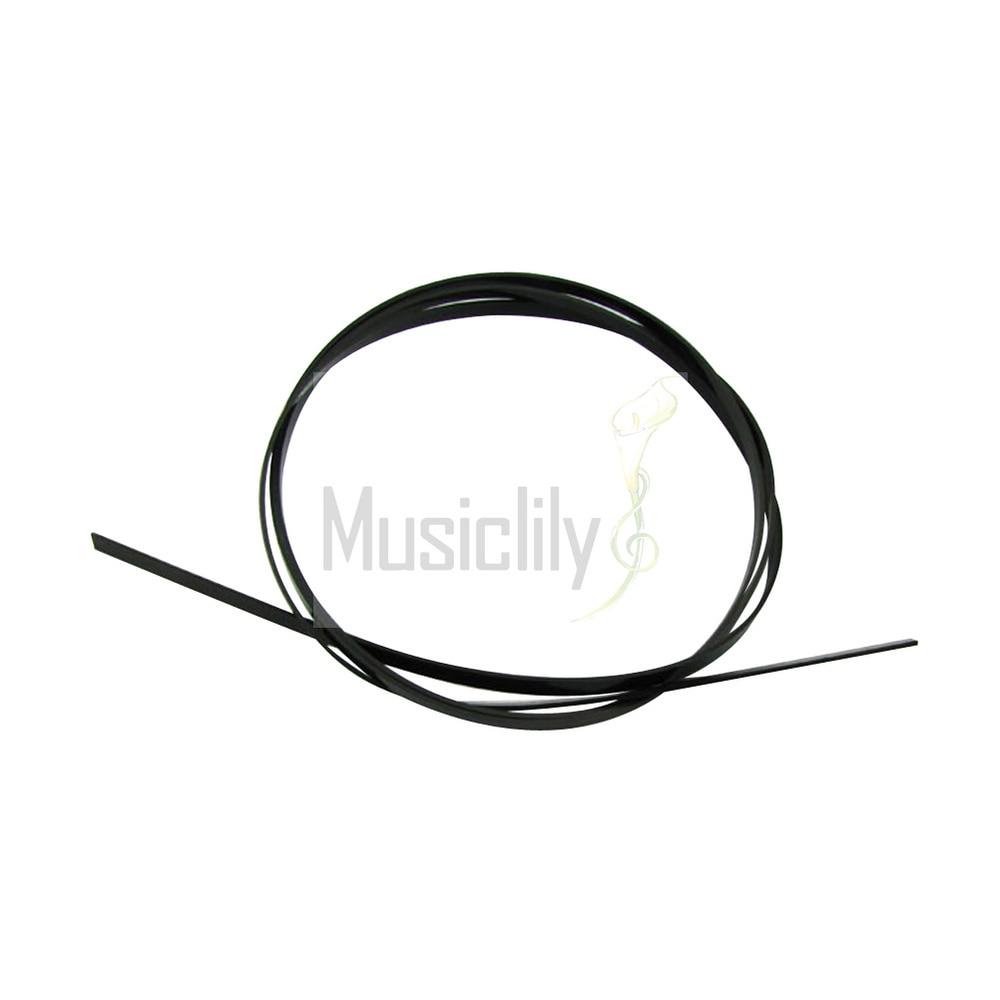 Bulk Sale 10Pcs Black 1650 x 6 x 1.5mm Plastic Plastic Binding Purfling Strip For Acoustic Classical Guitar<br><br>Aliexpress