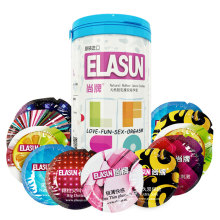 Buy Elasun Condoms,24 Pcs 5 Types Ultra thin Ice Fire Condom Man, Extra Sensitive Ultra Thin