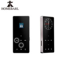 HOMEBARL 3th 4th Touch Screen MP4 Player Video Music FM Radio 4GB 8GB Players Suport 16GB 32GB 64GB Micro SD TF Card Speaker(China)